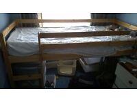 Shorty Mid Sleeper Bed