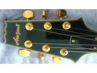 Aria Pro II Full Bodied Archtop Jazz Guitar. FA70BS. Unused in perfect condition.