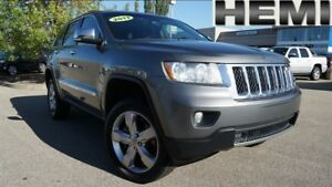 2013 Jeep Grand Cherokee Overland| Sun| Nav| H/C Leath| Air Susp