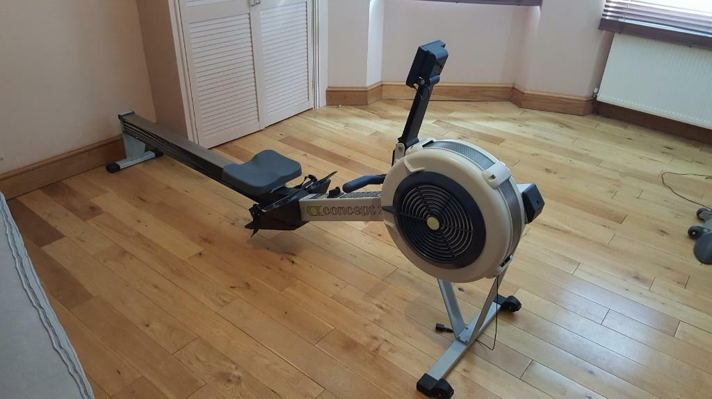 concept 2 rowing machine model d with pm3 monitor in eastbourne east sussex gumtree. Black Bedroom Furniture Sets. Home Design Ideas