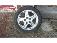 set of 4 mitsubusi FTO wheels