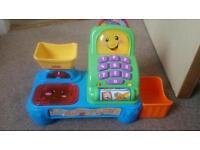 Fisher price electronic cash register