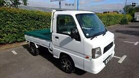 2003 Subaru Sambar Mini Truck 4x4 advertising vehicle