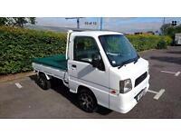 2003 Subaru Sambar Mini Truck 4x4 advertising vehicle