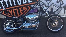 Harley Hardtail chopper bobber