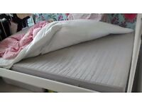 double mattress to collect