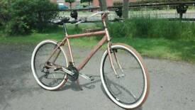 Custom bicycle beach cruiser chopper
