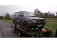 Wanted 4x4 Toyota Hilux Surf Nissan Terrano 2.7 Ford Maverick breaking 4runner Isuzu Trooper 3.1