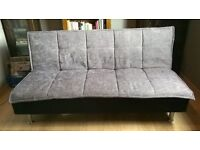 Like new firm& comfy small double/ three quarter sofa-bed, hardly used, excellent condition - £75