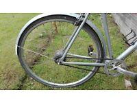 Charge tap hybrid bike