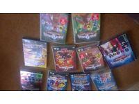 Power Rangers DVD's - 9
