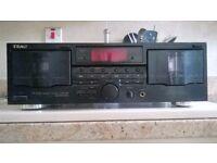 TEAC W-670R Double cassette deck