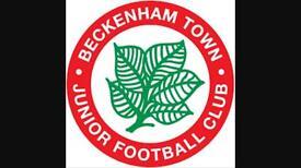 U13 Players wanted Beckenham Town Junior Football club