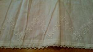Antique cotton and lace christening gowns West Island Greater Montréal image 7