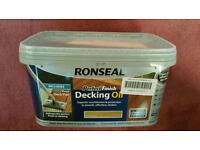 Ronseal Decking Oil 2.5 litres