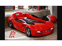 Cilek BiTurbo Children's Car Bed Red with custom mattress RRP £899