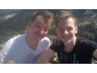 Looking for a double/twin room for two brothers