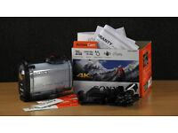 Sony FDR-X1000V 4K Action Camera + Free Extra Battery Suction Mount SDXC card