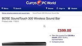 Bose SoundTouch Soundbar 300