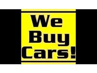 Scrap cars wanted any cars