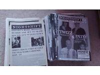 Nightshift magazines 1997-2005