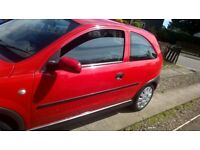 For Sale is my Vauxhall corsa c 1.0 12v m.o.t till march next year