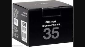 Fuji XF 35mm F2 R WR Mint for sale or swap for 35mm F1.4