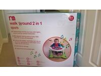 Mothercare baby walker with brakes