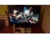 "46"" TV with xbox 360"