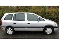 VAUXHALL ZAFIRA LIFE 7 SEATER 1.6L (2006) year mot ready to drive away