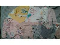 Baby clothes newborn.
