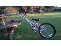 children's trailer bike