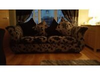 4 Seater sofa and large 2 Seater sofa bed