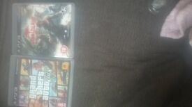 gta 5 and dead island for ps3 also black opps 2 without case