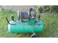 AIR COMPRESSOR 100 LITRE SPARES OR REPAIR