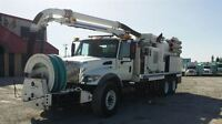 2006 International 7400 T/A HYDROVAC COMBO FLUSHER TRUCK -