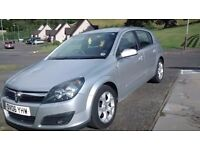 Silver '06' Vauxhall Astra 1.6 SXI