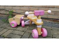 Wooden Trike with Trailer - ELC