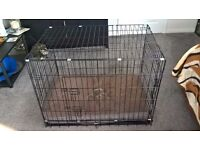 2 dog cages nearly new very little use