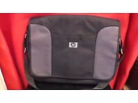 Large Laptop Messenger Shoulder Bag Black Mens Used