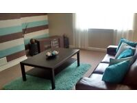 2 bedroom furnished flat for rent knightswood - available now