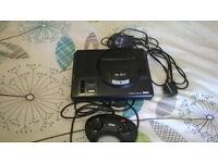 Sega Megadrive Console Bundle With 13 games