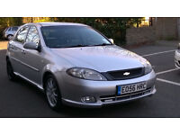 CHEVROLET LACETTI 1.8i SPORT 2006 56 REG MET SILVER / LEATHER 5 DOORS 5 SPEED MANUAL PAS A/C 103K
