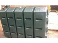 good condition green slim line oil tank for sale