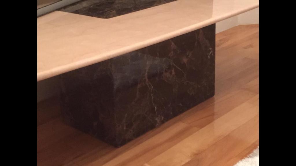 Marble coffee table tea table