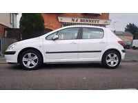 Peugeot 307 Automatic White Low milage !