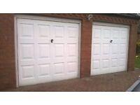 2x Garage doors