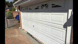 double garage door folding fully insulated