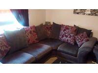 """Kayleigh"" corner sofa + chair in vgc"
