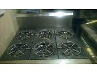6 burner gas cooker for sale!